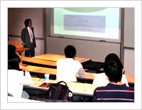 Photo:セミナーの模様 - CAREER DESIGN SEMINAR in USA 2007(2007/04/22~05/03)