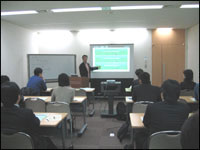 会場写真 - 海外大学院留学生向けCareer Design Seminar(2005/12/20)開催リポート