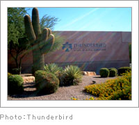 Thunderbird - CAREER DESIGN SEMINAR in USA Autumn 2007(2007/10/03~10/25)