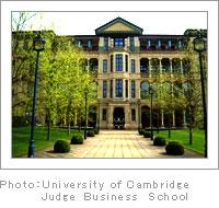 University of Cambridge Judge Business School - CAREER DESIGN SEMINAR in Euro 2008 (2008/04/23~05/01)