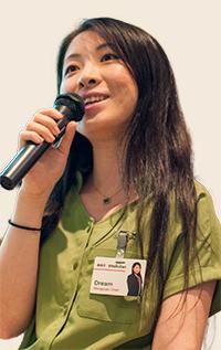 楽天株式会社 MBA採用チーム 採用担当 チェン・モンユエン氏
